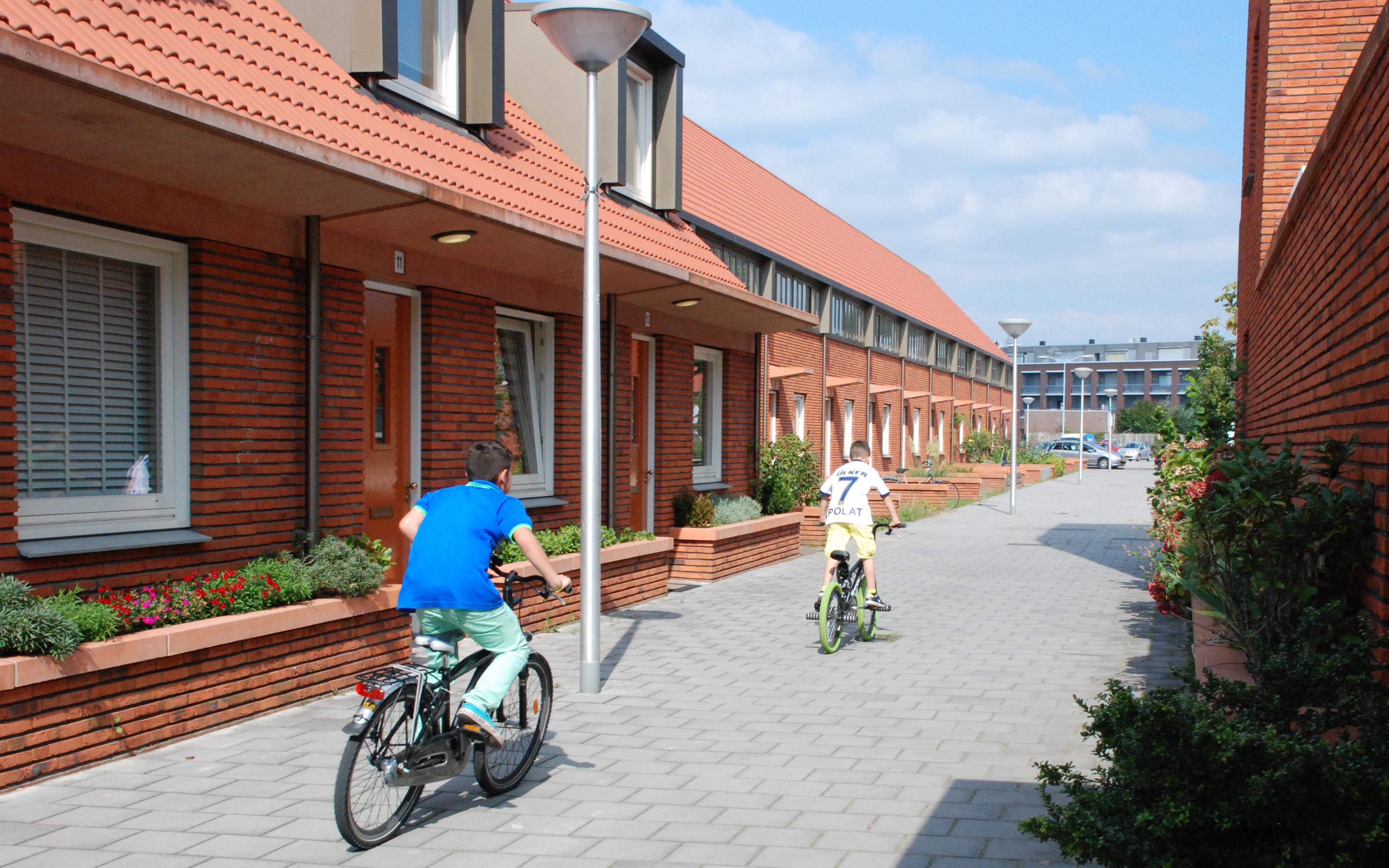 Lakerlopen fiets