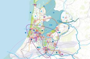 Gebiedsagenda's - gebiedsagendakaart Noordwest-Nederland/Utrecht