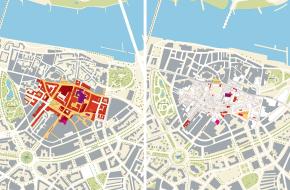 Atlas van de Wederopbouw - oorlogsschade Nijmegen