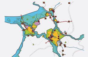 IJssel-Vechtdelta kaart