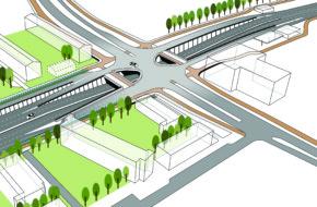Impressie combitunnel Sumatrastraat - Leidse Ring Noord