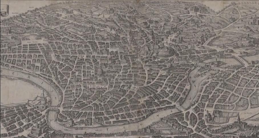 Afbeelding van een kaart, die behoort bij het filmpje over de Kempenatlas