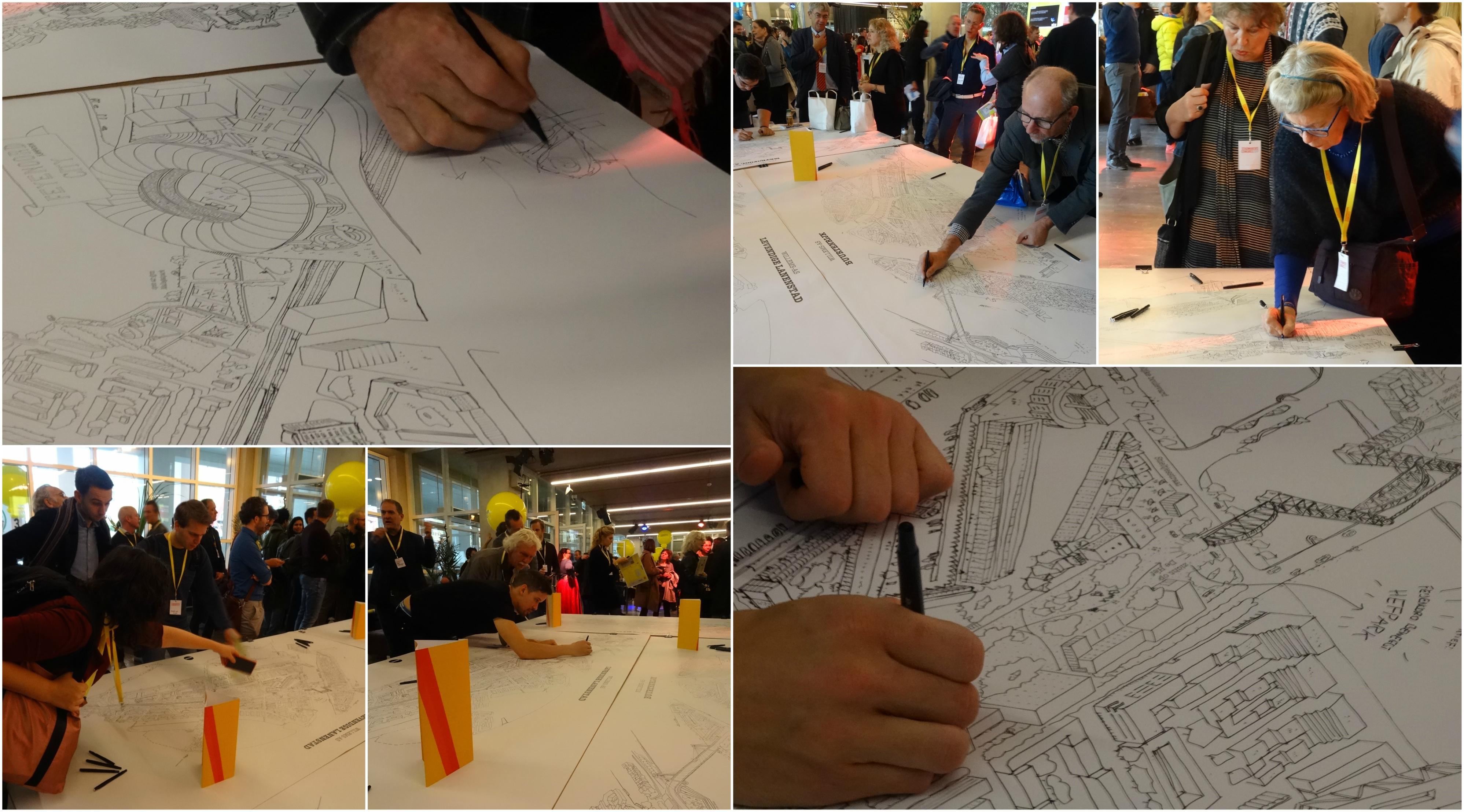 Foto's van een succesvol Stadmakerscongres