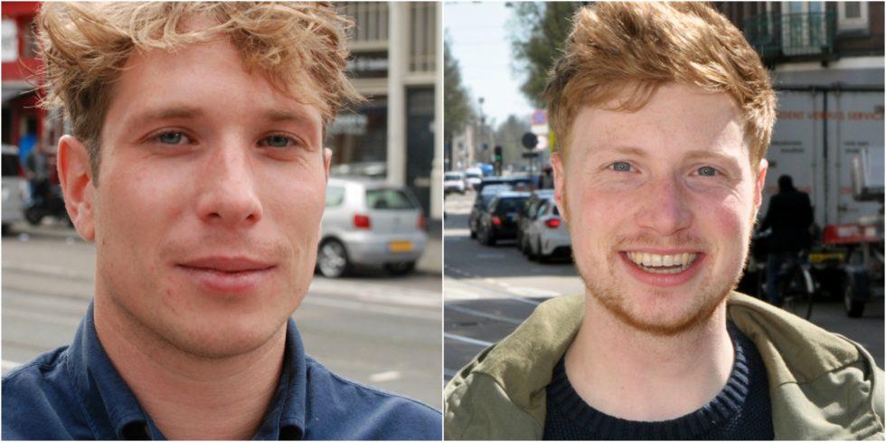 Foto's van onze twee afgestudeerde Musties : Bram (l) en Hein (r)