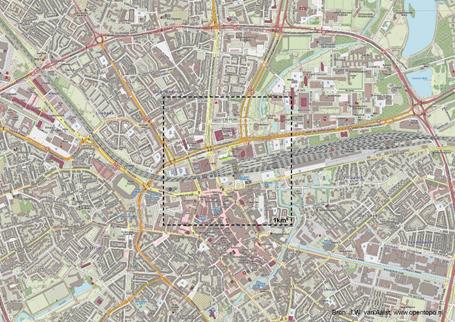 Afbeelding van onze locatie in Eindhoven voor het project De stad van de Toekomst
