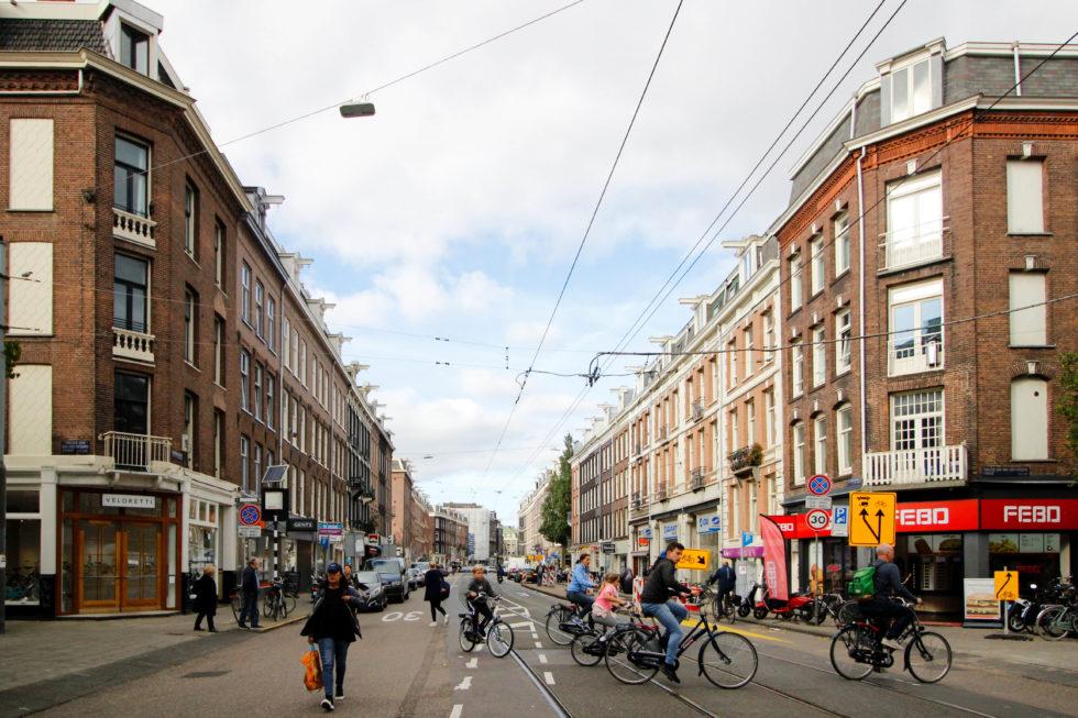 Foto van de Van Woustraat - NL Magazine