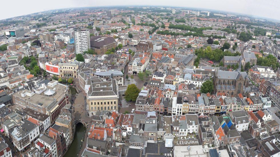Foto van Utrecht e.o. in het kader van het MIRT onderzoek Metropoolregio Utrecht