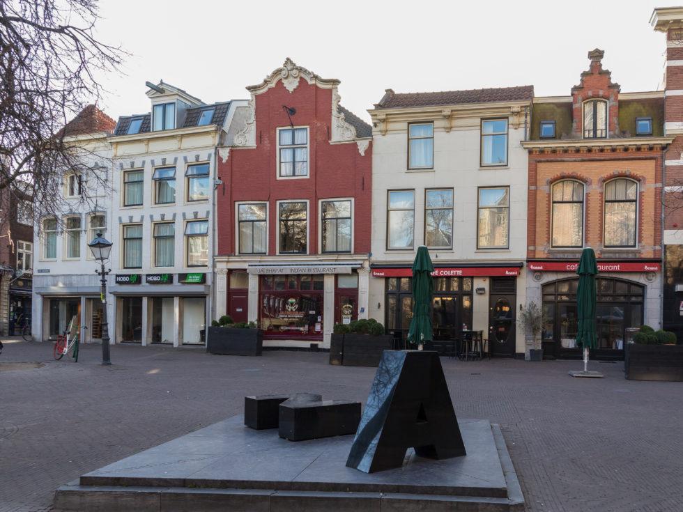 Foto van de Groenmarkt in Haarlem