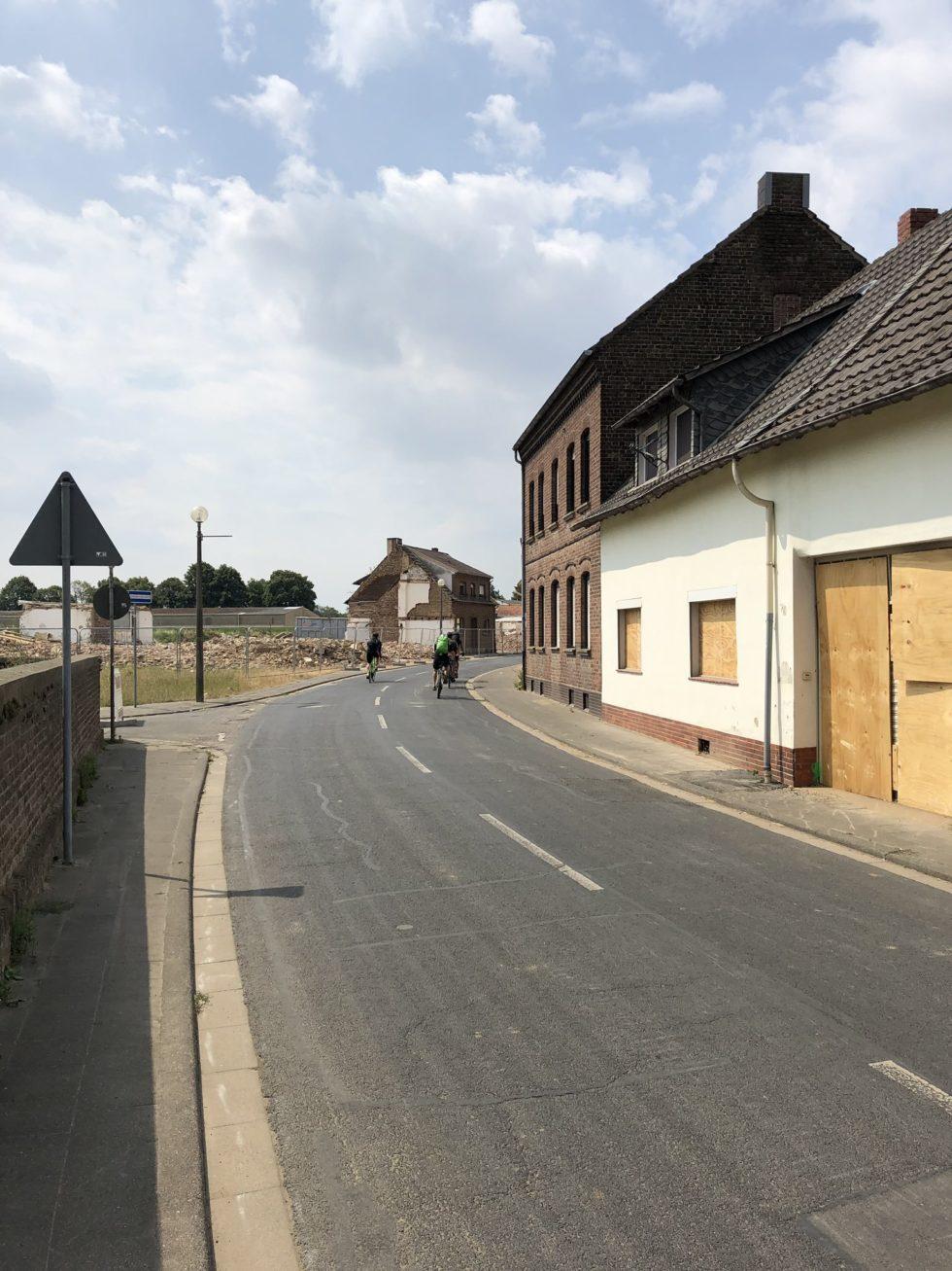 Het verlaten dorp Manheim