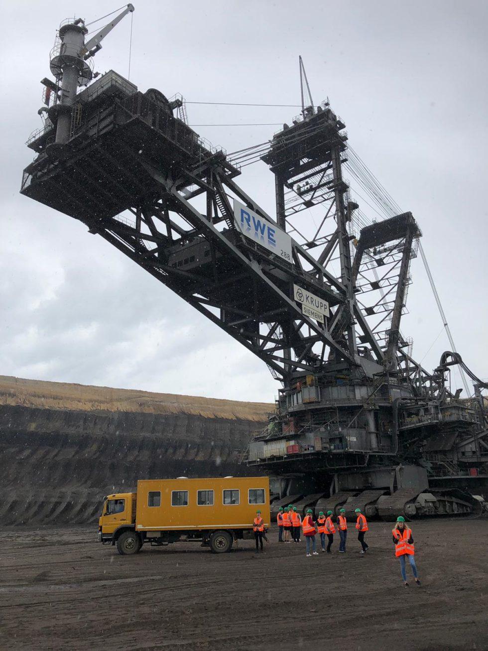 De mijn bij Garzweiler