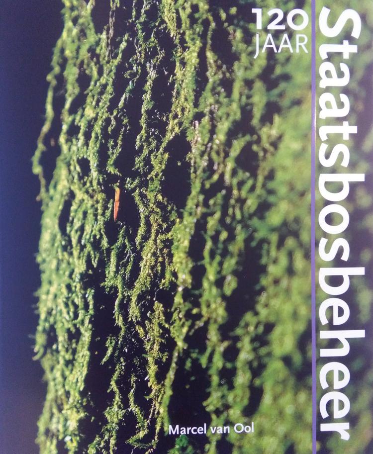 Voorkant boek 120 jaar Staatsbosbeheer