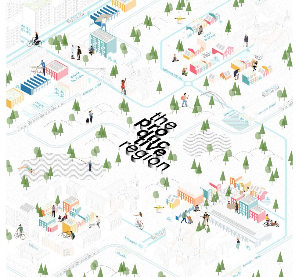 Afbeelding uit het Europan-project van Marc Rieser