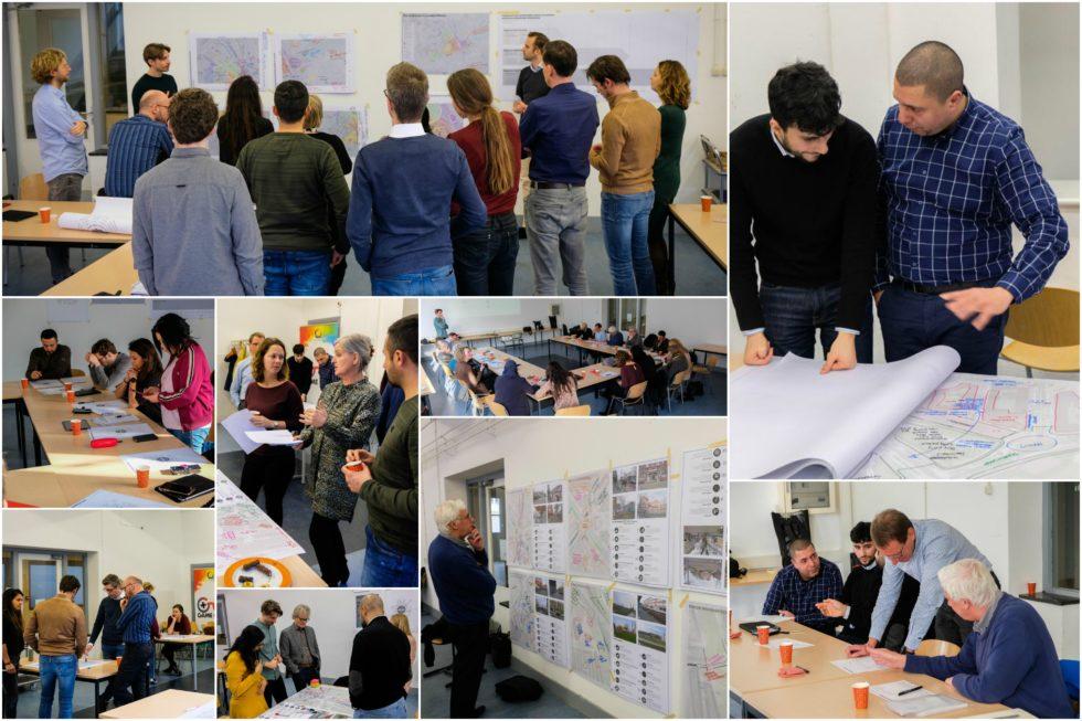 Op deze foto zie je verschillende foto's van onze workshops in Hillesluis, Rotterdam.