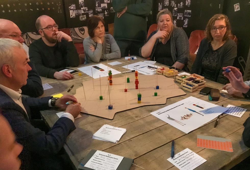 Foto van het Bodemcafé, waar we input ophaalde voor de Bodematlas Twente