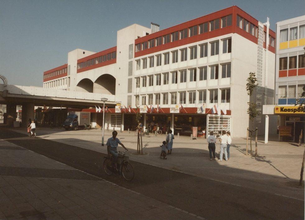Foto van winkelcentrum Reigersbos in Gaasperdam, Amsterdam Zuidoost