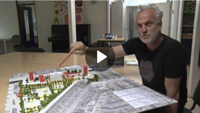 Beginbeeld van het filmpje van At5 over de bewoners van Entreegebied Gulden Winckel