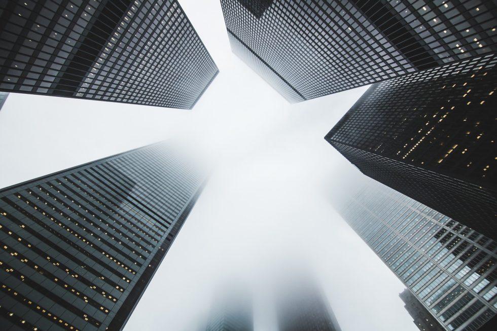 Deze foto geeft een impressie van hoogbouw