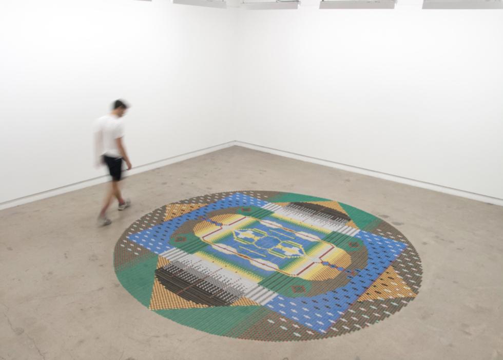 voorbeeld van het werk van We Make Carpets