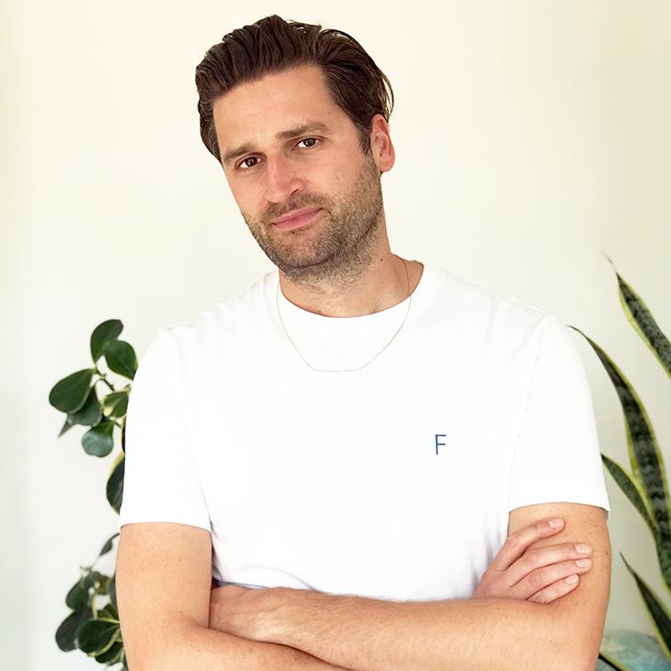 portretfoto van onze nieuwe collega Rob Giesendorf